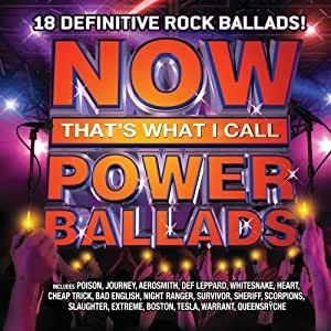 Now Power Ballads by Now That's What I Call Power Ballads (2009) Audio CD