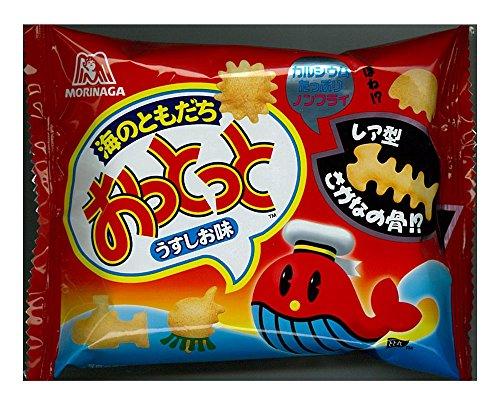 森永製菓 おっとっと<うすしお味>18g×10袋