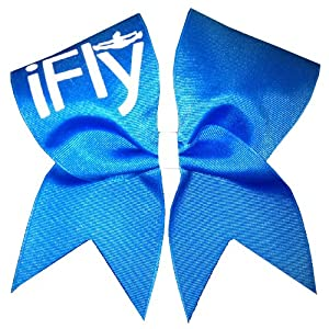 Amazon.com : New iFly Cheer Bow- Neon Blue : Cheerleading Equipment