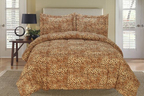 Leopard Bedding Twin front-1040738