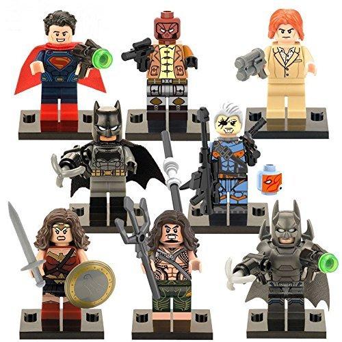 16 Sets Mini Figure Super Hero Building Toys