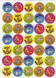 105 Teacher Well Done Motivational Reward Stickers