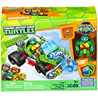 Mega Bloks Teenage Mutant Ninja Turtles Half Shell Heroes Leo Turtle Buggy