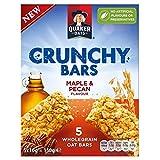 Quaker Oats Crunchy Bars Maple & Pecan (5x30g)