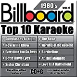 Billboard Top 10 Karaoke: 1980's 4 Various Artists
