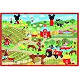 Mickey Mouse Club House Game Rug