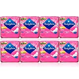 8x BODYFORM ULTRA NORMAL WITH WINGS 14 SANITARY TOWELS DRY FAST ABSORBS QUICKLY