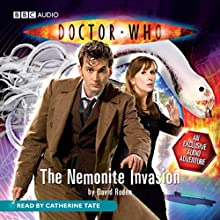 Doctor Who: The Nemonite Invasion (       UNABRIDGED) by David Roden Narrated by Catherine Tate