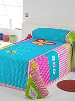 Lief! Colcha Bouti Mariposa (Multicolor)