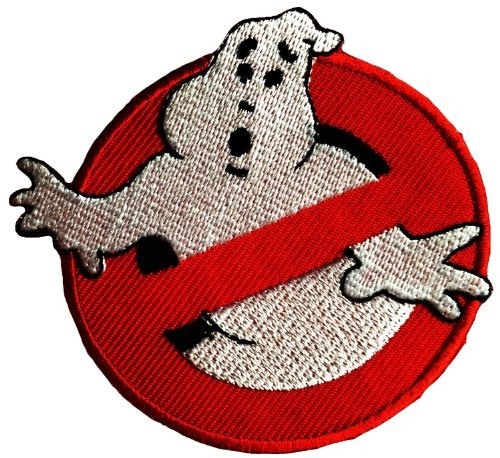 Ghost Buster Comic Book Movie Patch '9 x 7,5 cm' - Toppa Patches Toppa Toppa Termoadesiva Toppa Termoadesiva Per Stoffa Ricamato Toppa Embroidered Patch Applicazioni Applique