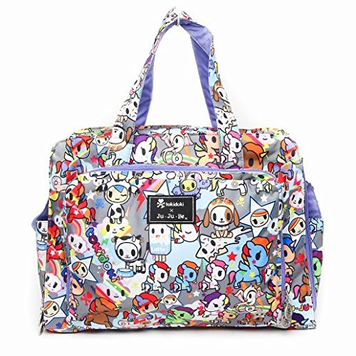 Jujube X Tokidoki Unikiki Be Prepared Diaper Bag back-990805