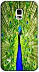 Samsung Accessories Beautiful Peacock Cell Phone Cases Design Special For Samsung Galaxy S5 i9600 No.2