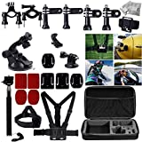 Meme 33 In 1 Accessories Set For GoPro Hero 4 Hero 3+ Hero 3 Hero 2 And GoPro Hero Camera: Telescoping Handheld...