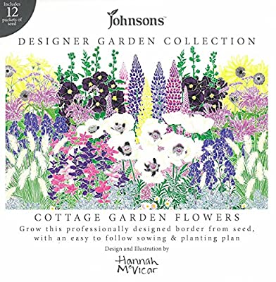 Designer Collection of Cottage Garden Flowers with Planting Plan OGD253