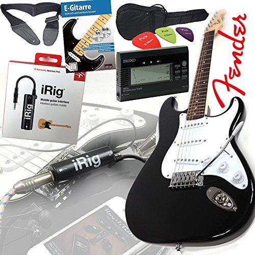 fender-squier-bullet-strat-guitare-electrique-en-noir-set-irig-interface-pour-guitare-iphone-et-ipad