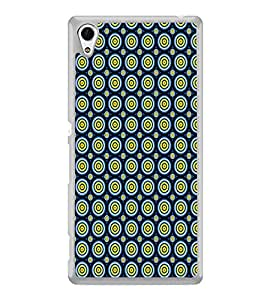 Circular Pattern 2D Hard Polycarbonate Designer Back Case Cover for Sony Xperia Z3+ :: Sony Xperia Z3 Plus :: Sony Xperia Z3+ dual :: Sony Xperia Z3 Plus E6533 E6553 :: Sony Xperia Z4