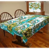 Miyanbazaz 100% Cotton 6 Seater Table Cover With 6 Napkins, 6 Mat,1 Runner Pack Of 14 Pc's