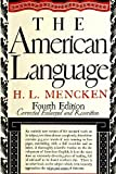 American Language (0394400755) by Mencken, H. L.