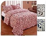 Lowell Bedspread Queen Red