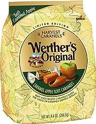 Werther\'s Original Harvest Caramels Apple Soft Caramels 9.4 Oz (Pack of 2)