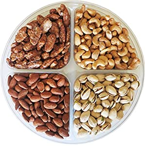 Cambridge Gourmet 4-section Nut Gift Tray (1.5lb)