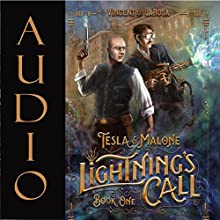 Tesla & Malone: Lightning's Call, Book One Audiobook by Vincent J LaRosa Narrated by David Stifel