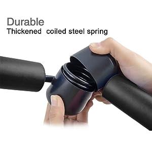 Thigh Toner & Butt, Leg, Arm Toner Thigh Trimmer Leg Exerciser Thigh Master Home Gym Equipment Black (Color: Black)