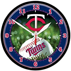Minnesota Twins Wall Clock by WinCraft