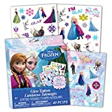 Disney Frozen Temporary Glow Tattoos, 1-Pack (49 Pieces)