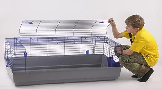 XXL Hasenkäfig 140 cm für Kaninchen