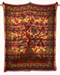 Hippie Tapestry Tree Of Life Pink Tab...