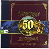 Board Game The Classic Game of Battlefield Strategy Stratego 50th Anniversary Edition