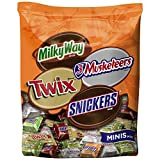 MARS Chocolate Fall Harvest Minis Size Candy Bars Variety Mix 45.8-Ounce Bag