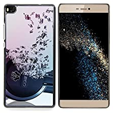 buy Headphones Music Symbol Love Ears Notes Designed Hard Plastic Protective Case King Case For Huawei P8