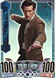 Doctor Who Alien Attax Topps - Rainbow Foil 001 Eleventh Doctor