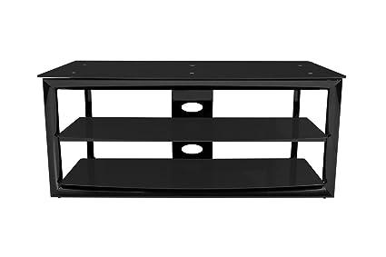 TechCraft MC4832B 48-Inch Wide Home Theater Stand (Black)