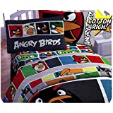 Angry Birds Twin Bed Sheet Set 3pc Bold Colors Sheets