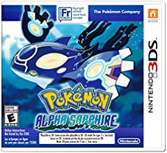 Pokemon Alpha Sapphire - Nintendo 3DS - Alpha Sapphire Edition