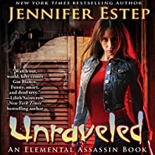 Unraveled Audiobook by Jennifer Estep Narrated by Lauren Fortgang