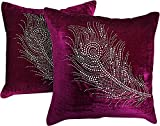 Snowfinch Polyviscose 2 Piece Cushion Cover Set - 16