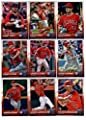 2015 Topps Update Series Los Angeles Angels Baseball Cards Team Set of 22 Cards: David DeJesus, Carlos Perez, Albert Pujols, Joe Smith, Shane Victorino, Conor Gillaspie, Vinnie Pestano, Taylor Featherston, Andrew Heaney, Johnny Giavotella, David Murphy, A