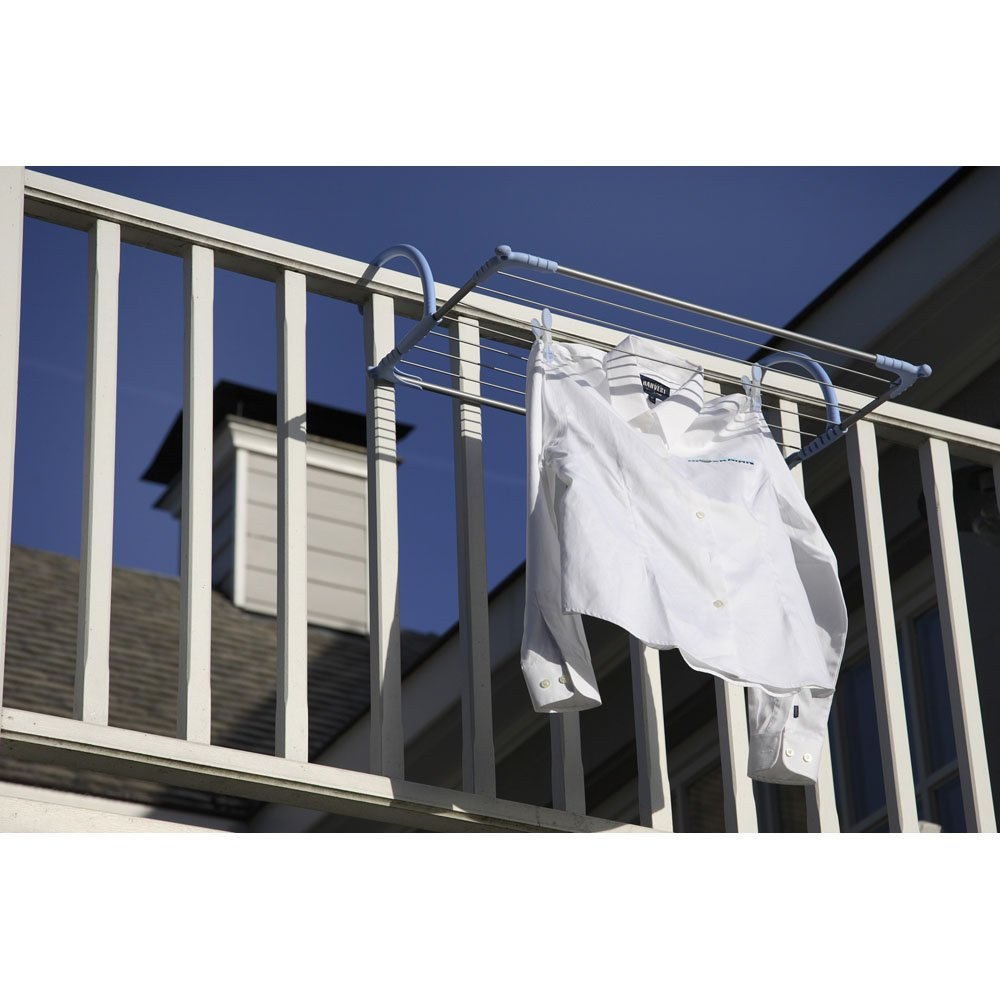 Outdoor Cloth Dryer ~ Moerman laundry solutions handrail airer indoor