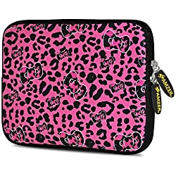 Amzer 10.5 Inch Neoprene Sleeve Pink Panther for Apple iPad Air, Apple iPad 4, Apple iPad 2