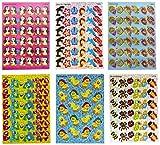 Trend Enterprises Animal Fun Sparkle Sticker Variety Pack - Pack of 648