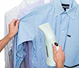 Home Garment Steamer - Mini Handheld with 140ml Reservoir Capacity - Perfect Wrinkle Control on All Fabrics - Quick Heating - Good for Home, Travel - Portable & Lightweight - Spit Free - High Quality