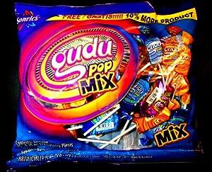 Amazon.com : Gudu Pop Mix Soft Candy Mexican Lollipops 45