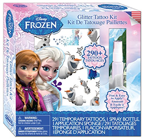 Savvi Disney Frozen Tattoos Kit (290-Piece) - 1