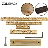 ZONEPACK Copper Brass Stamping Flexible Letters Numbers Alphabets Symbols Characters Molds CNC Engraving Molds for Hot Foil Stamping Machine (Time New Roman) (Tamaño: Time New Roman)
