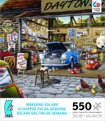 Weekend Escape Dayton's Garage Jigsaw Puzzle