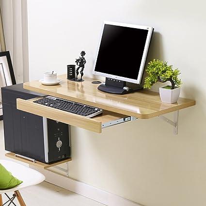 SUBBYE Muebles Modernos Modernos Montados En La Pared Mesa De Escritorio Muebles De Mesa 4 Colores Opcionales ( Color : C , Tamaño : 100*40cm )